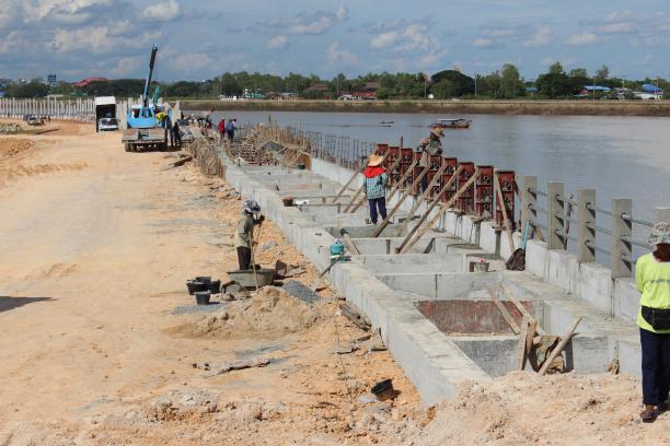 โครงการออกแบบเขื่อนริมแม่น้ำภายในประเทศ