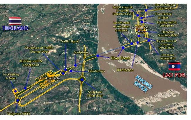 โครงข่ายสะพานมิตรภาพไทย-ลาว แห่งที่ 6 (อุบลราชธานี-สาละวัน)